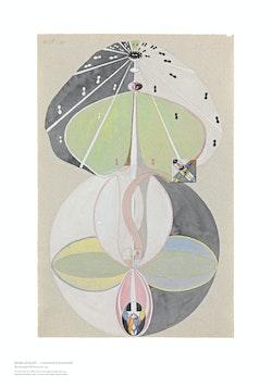 Hilma af Klint : Tree of Knowledge, No. 5.