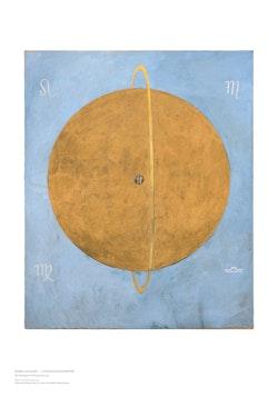 Hilma af Klint : The Dove, No. 13.