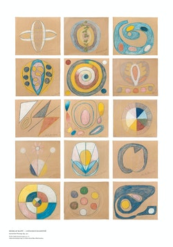 Hilma af Klint : The Five, Untitled.
