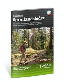 Friluftsatlas Sörmlandsleden 1:50.000