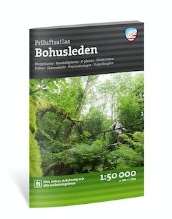 Friluftsatlas Bohusleden 1:50 000