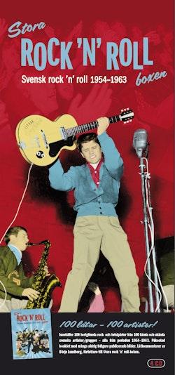 Stora Rock'n'roll-boxen : svensk rock'n'roll 1954-1963 4 cd box