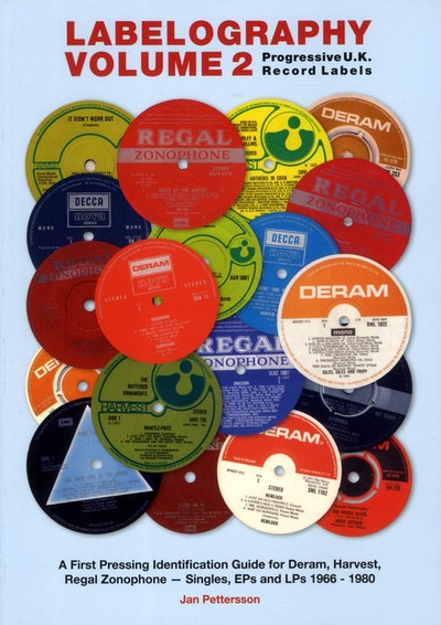 Labelography  - progressive u.k. record labels - a first pressing identific