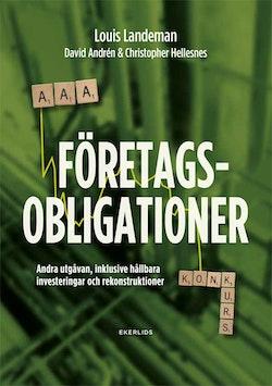 Företagsobligationer : andra upplagan, inklusive hållbara investeringar och rekonstruktioner