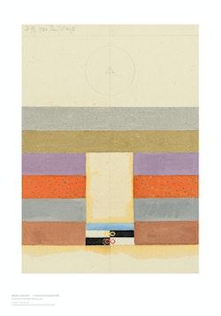 Hilma af Klint: Geometric Series V, No. 7
