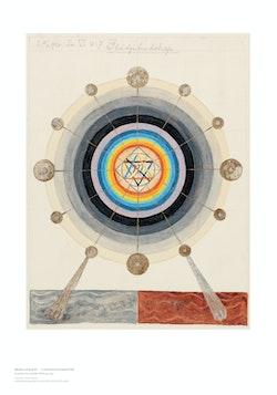 Hilma af Klint : Geometric Series VI, No. 7