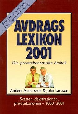 Avdragslexikon 2001 : allt om privatekonomi