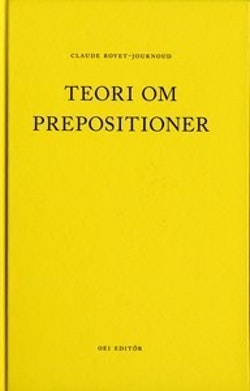 Teori om prepositioner