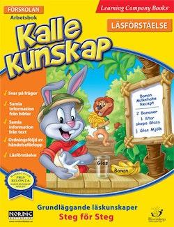 Kalle Kunskap Förskolan - Läsförståelse: Djungeläventyr Arbetsbok