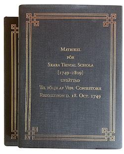 Matrikel för Skara Trivial Schola [1749–1809]