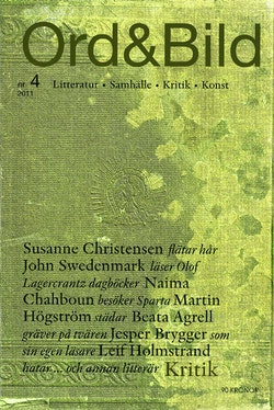 Ord&Bild 4(2011) Kritik