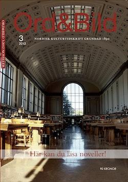 Ord&Bild 3(2012) Noveller