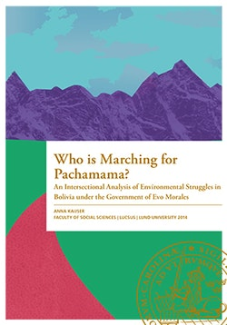 Who is Marching for Pachamama?