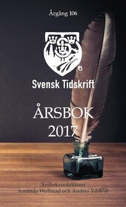 Svensk Tidskrifts Årsbok 2017