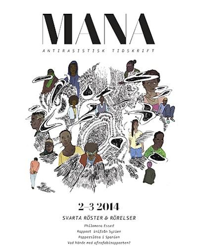 Tidskriften Mana 2-3(2014) Svarta röster & rörelser