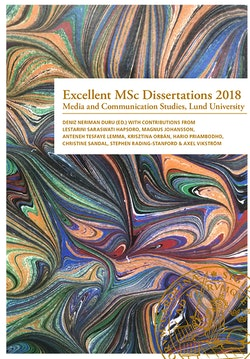 Excellent MSc Dissertations 2018