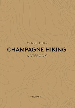 Champagne Hiking Notebook