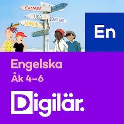 Digilär Engelska 4-6