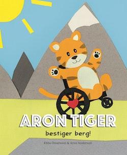 Aron Tiger bestiger berg