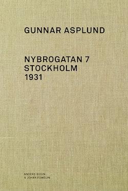 Gunnar Asplund Nybrogatan 7 Stockholm 1931