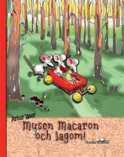 Artur läser musen Macaron och lagom!